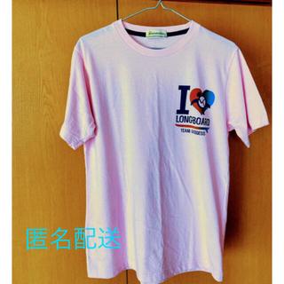 ピンクTシャツ(team goddess)