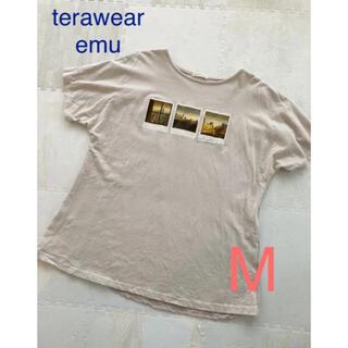 terawear emu  TRWフハクキリカエPO グレー Mサイズ