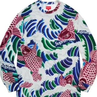 シュプリーム(Supreme)のSupreme Waves L/S Top Multicolor(Tシャツ/カットソー(七分/長袖))