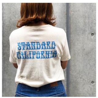 スタンダードカリフォルニア(STANDARD CALIFORNIA)のGO HEMP × SD dead logo tee(Tシャツ/カットソー(半袖/袖なし))