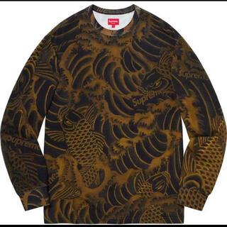 シュプリーム(Supreme)のSupreme Waves Tops Black(Tシャツ/カットソー(七分/長袖))