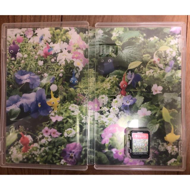 Nintendo Switch(ニンテンドースイッチ)のSwitch  ピクミン3  デラックス エンタメ/ホビーのゲームソフト/ゲーム機本体(家庭用ゲームソフト)の商品写真