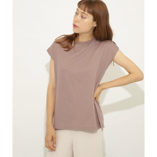 センスオブプレイスバイアーバンリサーチ(SENSE OF PLACE by URBAN RESEARCH)の2枚セット オーガニックコットンフレンチスリーブTシャツ(Tシャツ(半袖/袖なし))