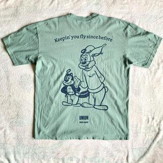 UNION × MIN-NANO MNION TEE サイズL(Tシャツ/カットソー(半袖/袖なし))