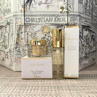 Dior - 【けい様専用】Dior 最高スキンケア オー・ドゥ・ヴィ ローション&クリーム