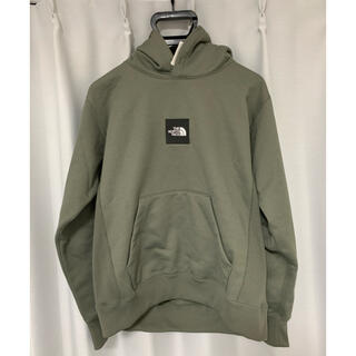 THE NORTH FACE - THE NORTH FACE HEATHER LOGO BIG HOODIE