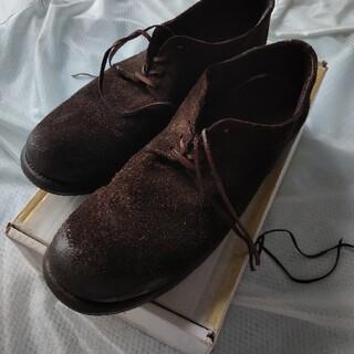 グイディ(GUIDI)のGUIDI derby shoes buckskin シカ革 グイディ(ブーツ)