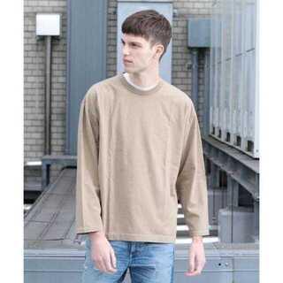 ビューティアンドユースユナイテッドアローズ(BEAUTY&YOUTH UNITED ARROWS)のBY サイドスリット ワイド カットソー(Tシャツ/カットソー(七分/長袖))