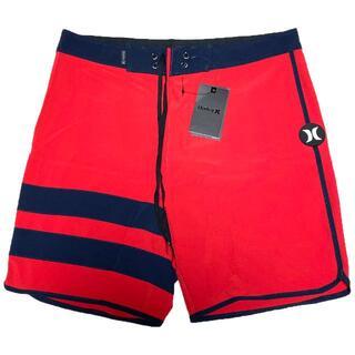ハーレー(Hurley)のHurley 水着 サーフパンツ ハーレー XSサイズ 28インチ 赤(サーフィン)