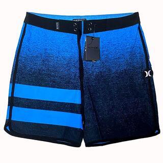 ハーレー(Hurley)のHurley 水着 サーフパンツ ハーレー XSサイズ 28インチ 青GRA(サーフィン)