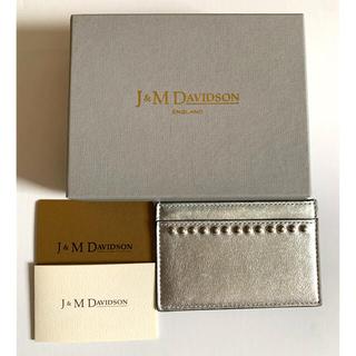 J&M DAVIDSON - J&M DAVIDSON カードケース パスケース ウィズスタッズ