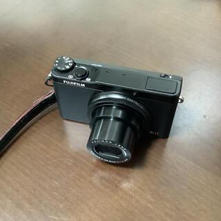 富士フイルム - Fujifilm XQ1 保証書付き Fujifilm製革ケース付き