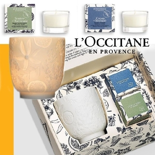 L'OCCITANE - PA☆ロクシタン キャンドル ホルダー セット