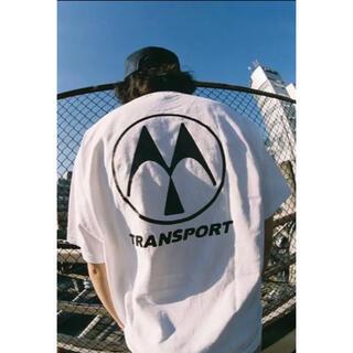 TRANSPORT - tokishirazu × TRANSPORT × BLANK MAG Tシャツ