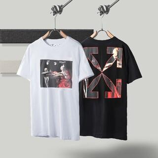OFF-WHITE - 0308OFF WHITEオフホワイト半袖Tシャツ