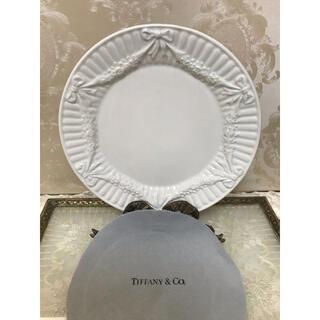 Tiffany & Co. - ご予約!2枚美品!ティファニー リボンとローズガーランド  デザートプレート