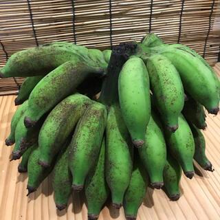 沖縄ヤンバル産島バナ約2.2キロ、無農薬、自然物(フルーツ)