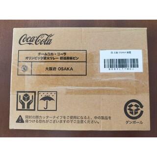 コカコーラ(コカ・コーラ)のコカ・コーラ バッジ 都道府県ピン 大阪府 コカコーラ(ノベルティグッズ)