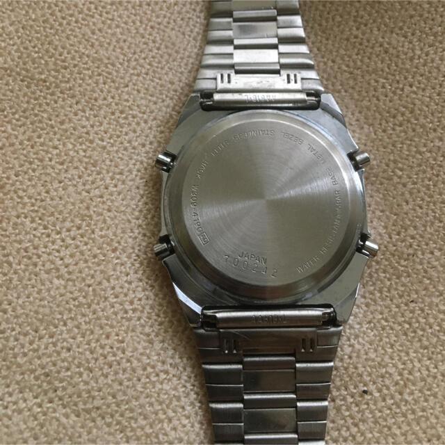 ALBA(アルバ)のALBA 5BAR デジタル時計 メンズの時計(腕時計(デジタル))の商品写真