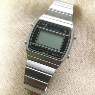 アルバ(ALBA)のALBA 5BAR デジタル時計(腕時計(デジタル))