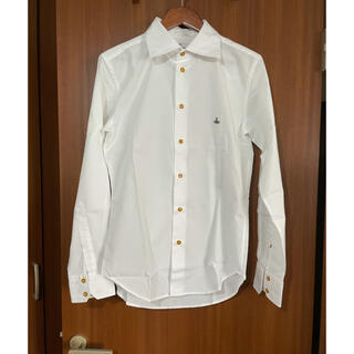 Vivienne Westwood - vivienne weastwood man シャツ ホワイト サイズ46 美品