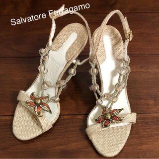 サルヴァトーレフェラガモ(Salvatore Ferragamo)の新品 サルバトーレフェラガモ サンダル(サンダル)