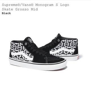 Supreme - Supreme®/Vans® Skate Grosso Mid 27cm