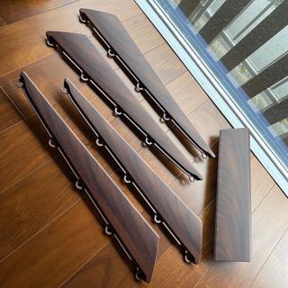 ミツビシ(三菱)のデリカd5 アクセントパネル(サバ杢)(車種別パーツ)