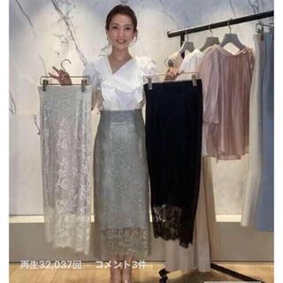 snidel - SNIDEL 店舗限定 レーススカート