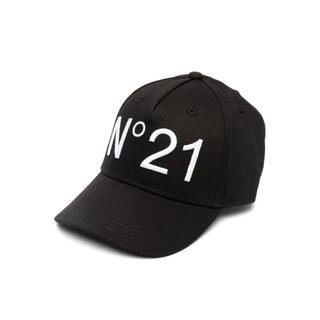 ヌメロヴェントゥーノ(N°21)のヌメロヴェントゥーノ キャップ 帽子 ブラック(キャップ)