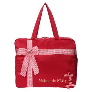 Maison de FLEUR - プレゼントリボンボストンバッグ【×Misako Aoki】各7,500円