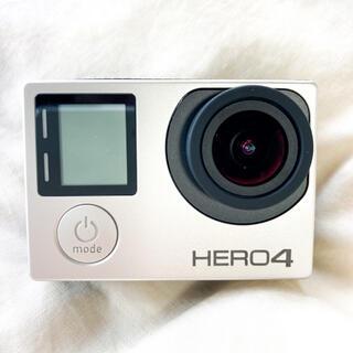ゴープロ(GoPro)のGoPro HERO4 Silver (付属品込み)(コンパクトデジタルカメラ)