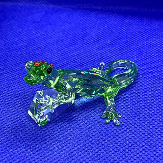 スワロフスキー(SWAROVSKI)のスワロフスキー 2008年 SCS限定品 『Gecko』 905541(置物)