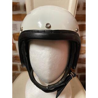 ハーレーダビッドソン(Harley Davidson)の60s 不明 ビンテージ ヘルメット 吊り天井(ヘルメット/シールド)