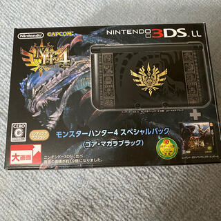 ニンテンドー3DS - Nintendo3DS LL モンスターハンター4 スペシャルパック