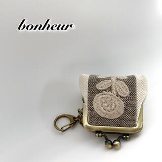 .*˚ ミナペルホネンbonheur コインケース 財布 キーリング⚮̈