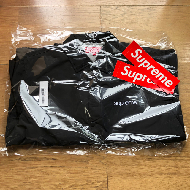 Supreme(シュプリーム)のSupreme Five Boroughs Coaches Jacket 黒S メンズのジャケット/アウター(ナイロンジャケット)の商品写真
