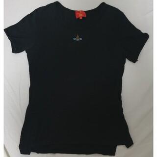 Vivienne Westwood - ヴィヴィアン・ウエストウッド オーブ刺繍 カットソー 半袖 Tシャツ