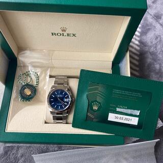 ROLEX - ロレックス  デイトジャスト36    126234 ブライトブルー 2021年