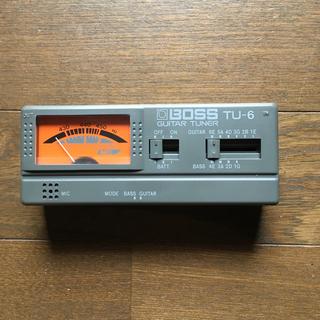 ボス(BOSS)のBOSS TU-6 GUITER TUNER【美品】(エフェクター)