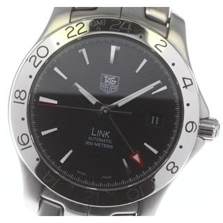 タグホイヤー(TAG Heuer)のタグホイヤー リンク GMT WJF2116 自動巻き メンズ 【中古】(腕時計(アナログ))
