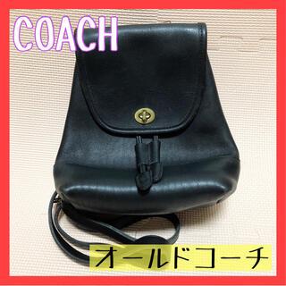 COACH - COACH コーチ オールドコーチ リュック 黒 メンズ