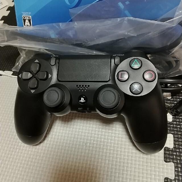 PlayStation4(プレイステーション4)のSONY PlayStation4 本体 CUH-2200AB01 500GB エンタメ/ホビーのゲームソフト/ゲーム機本体(家庭用ゲーム機本体)の商品写真