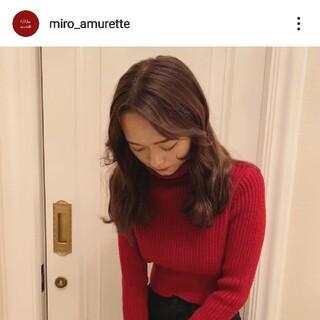 Lily Brown - miro amurette ハイネックニット