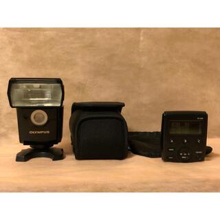 オリンパス(OLYMPUS)のOLYMPUS フラッシュ FL-700WR ワイヤレスコマンダー FC-WR(ストロボ/照明)