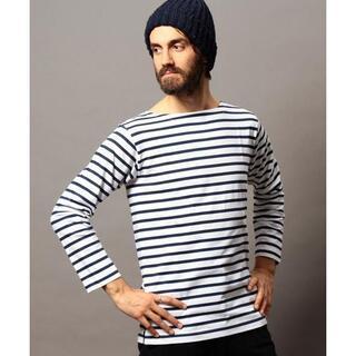 ビューティアンドユースユナイテッドアローズ(BEAUTY&YOUTH UNITED ARROWS)のユナイテッドアローズ バスクシャツ ボートネック ボーダーシャツ L(Tシャツ/カットソー(七分/長袖))