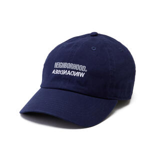 NEIGHBORHOOD - NEIGHBORHOOD×WIND AND SEA C-CAP ネイビー