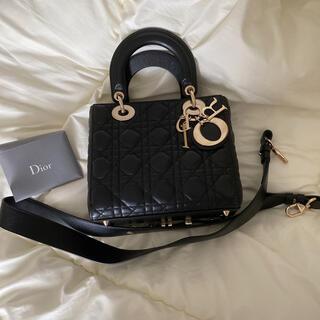 Christian Dior - LADY DIOR MY ABCDIOR バッグ カナージュ ラムスキン