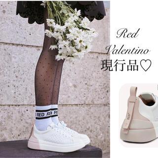 レッドヴァレンティノ(RED VALENTINO)のRED VALENTINO♡ 現行品‼︎ 2020AW BOWALK スニーカー(スニーカー)