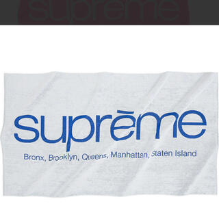 Supreme - supreme  Five Boroughs Towel